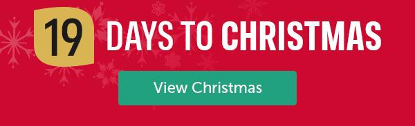 19 days to Christmas View Christmas