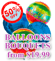 Balloon Bouquets for ALL                     Occasions from $19.99