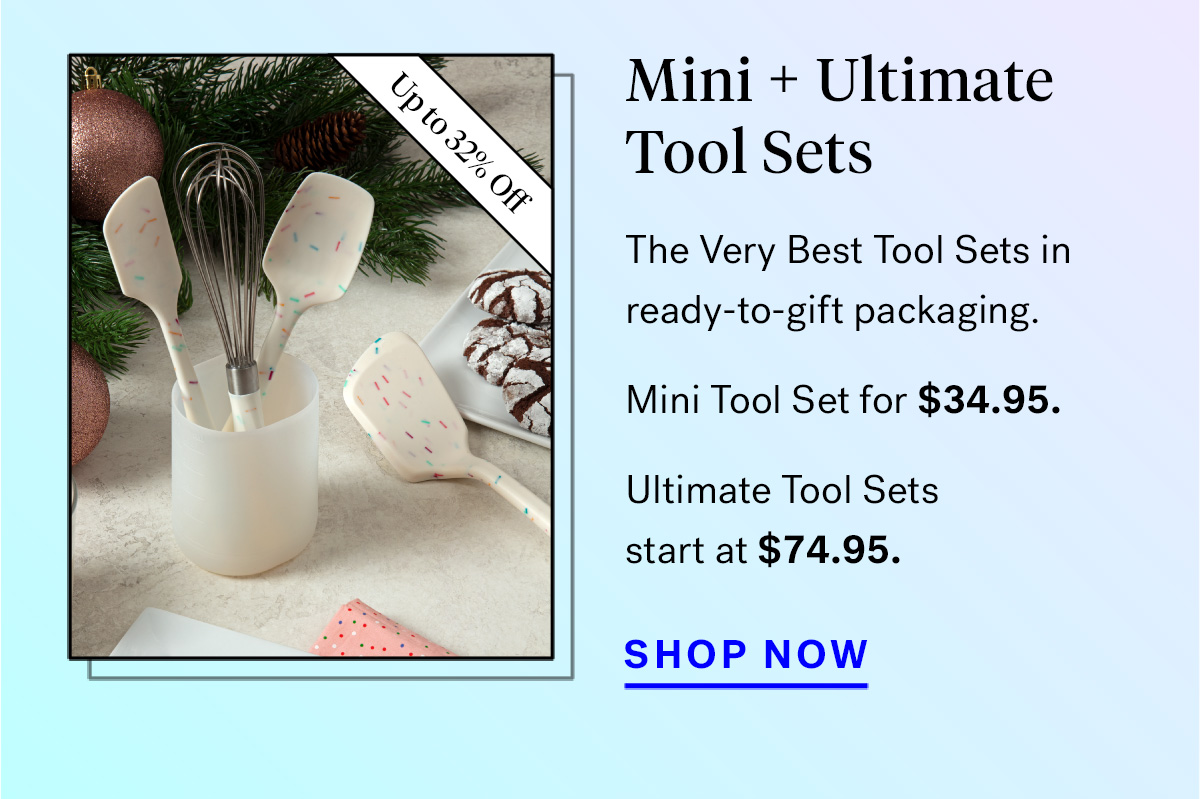 Mini + Ultimate Tool Sets (badge for up to 32% off)