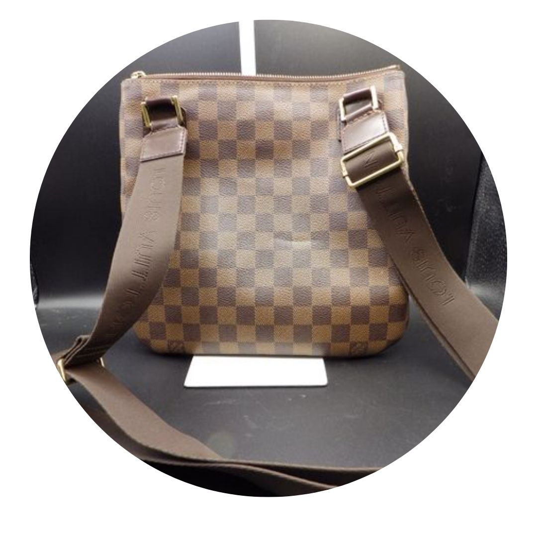 Louis Vuitton Damier Ebene Canvas Shoulder Bag