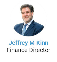 Jeffrey M Kinn - Finance Director