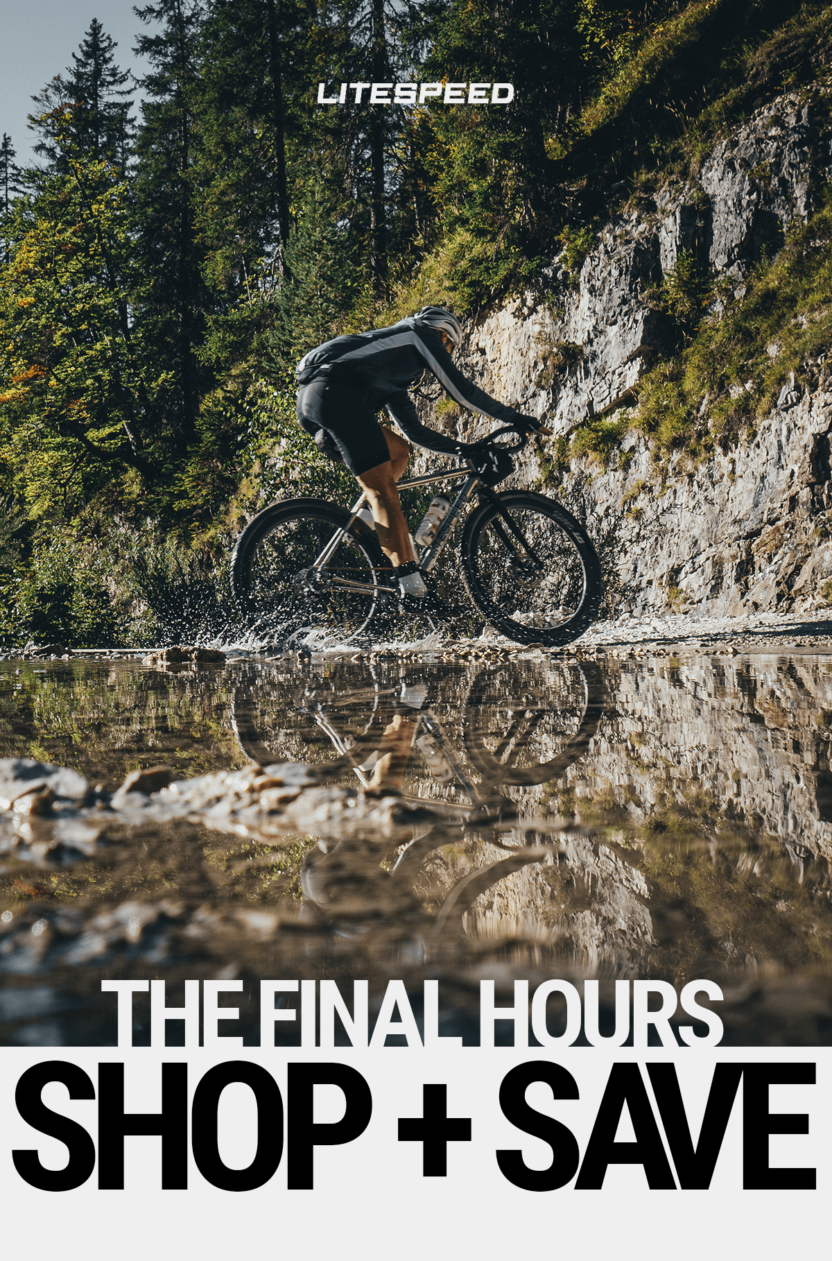 Litespeed's biggest sale of the year is coming to an end! Shop now and save up to $1975 on a new bike.