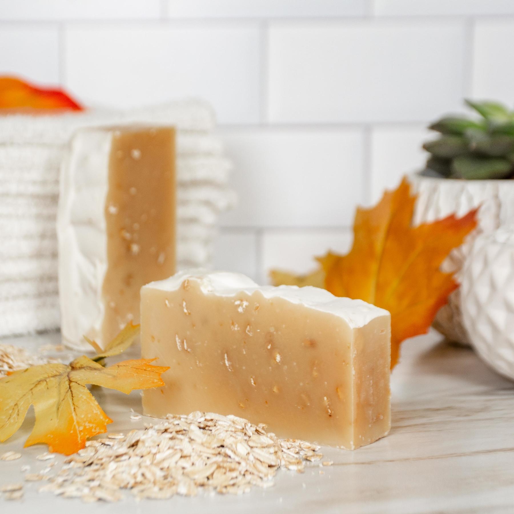 goat milk soap purity scrub