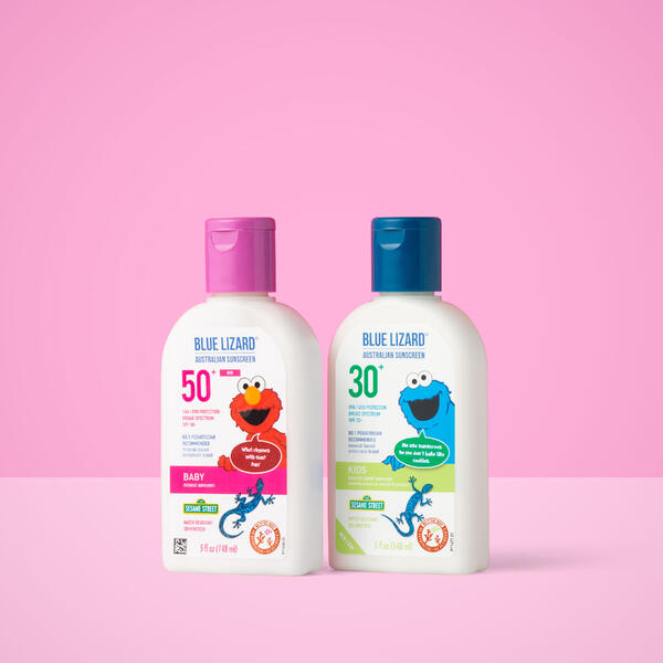 Blue Lizard Baby and Kids sunscreen lotions