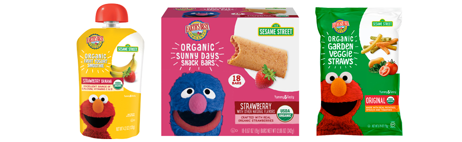 Selection of Earth''s Best Snack Products