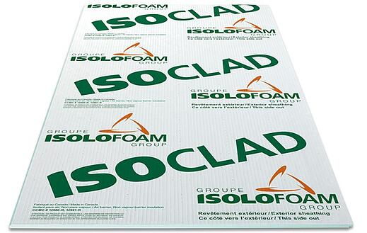 ISOLOFOAM ISOCLAD WALL INSULATION PANELS