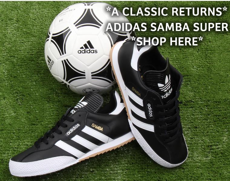 Adidas Samba Super Black White