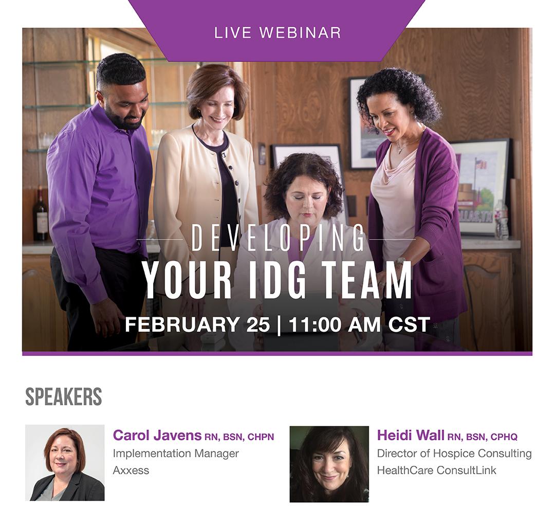 Developing Your IDG Team Marketo Webinar