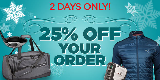 25% Off Your Order with Code Save25