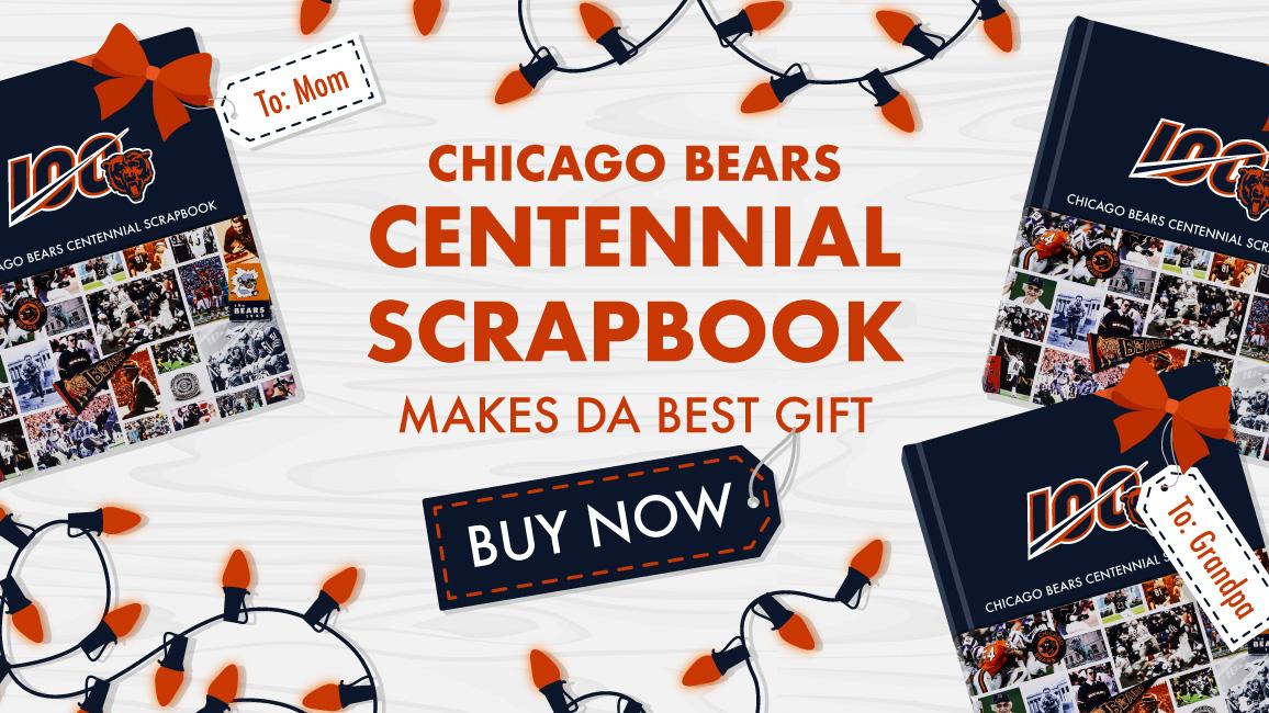 The Chicago Bears Centennial Scrapbook Makes Da Best Gift