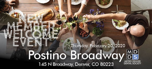MDDS February New Member Welcome Event Postino Broadway February 20, 2020