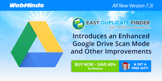 Easy Duplicate Finder 7.3 Introduces an Enhanced Google Drive Scan Mode and Other Improvements