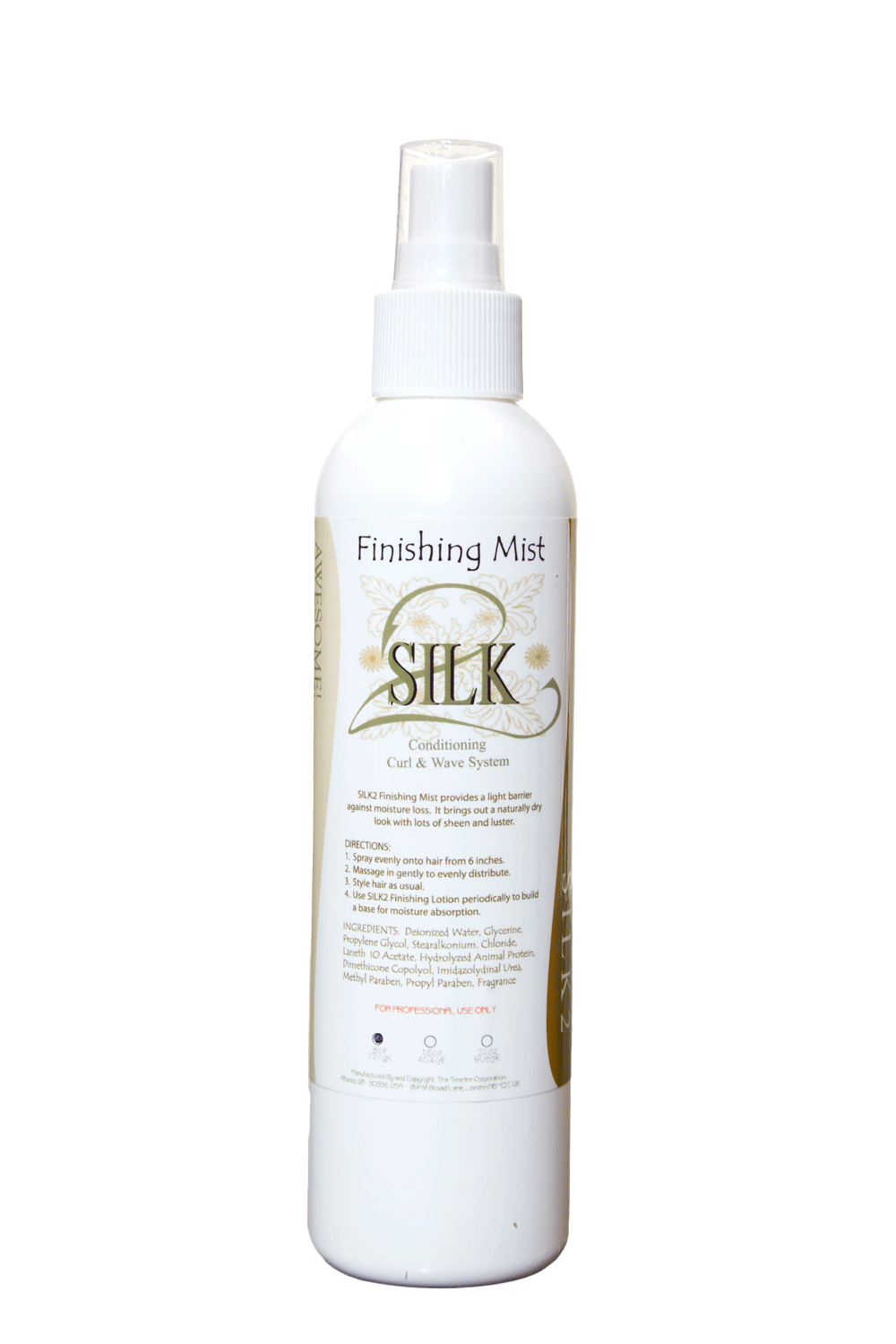 SILK2 Finishing Mist