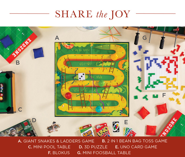 Share the Joy - Games