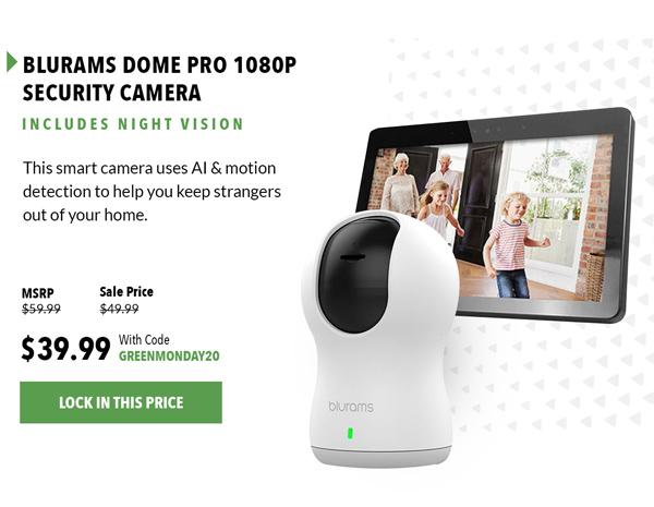 BluRams Security Camera  Shop Now