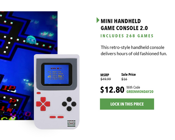 Handheld Game Console   Shop Now