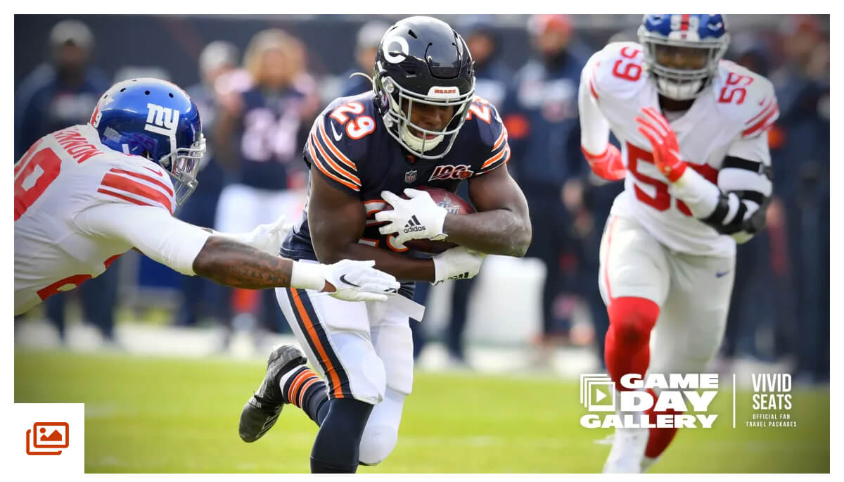 Gameday Gallery: Giants at Bears