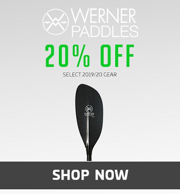20% Off Werner Paddles