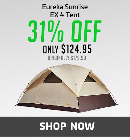 Eureka Sunrise Ex 4 Tent - 4 Person