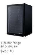 115L Bar Fridge