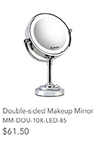 Double-sided Makeup Mirror