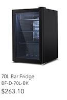 70L Bar Fridge