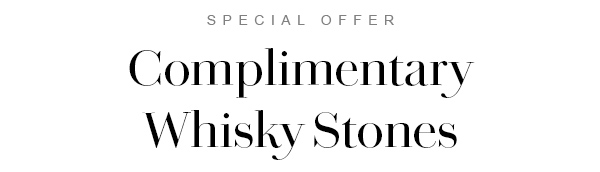 Complimentary Whisky Stones