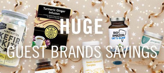 Huge Guest Brands Savings