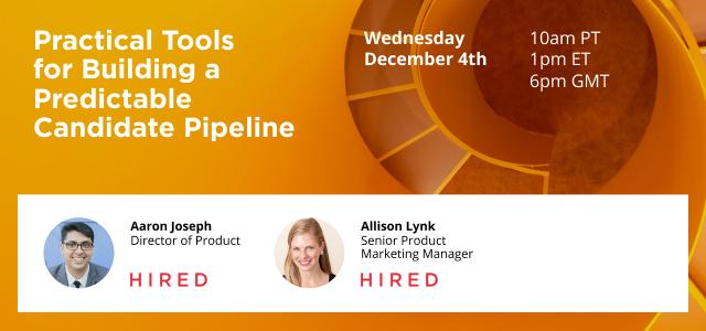 Predictable Pipeline Tools Webinar