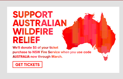 Support Australian Wildfire Relief