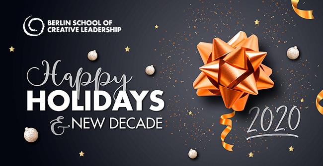 Happy Holidays & New Decade!