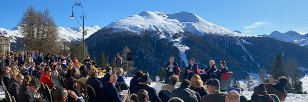 The view from Davos