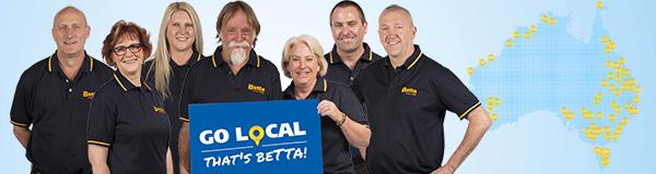 Go local that''s Betta