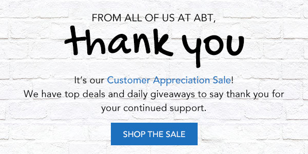 Shop the Customer Appreciation Sale