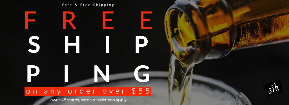 Tap Into Fast & Free Shipping, Orders Over $55 Are Shipping Free From Adventures in Homebrewing*!