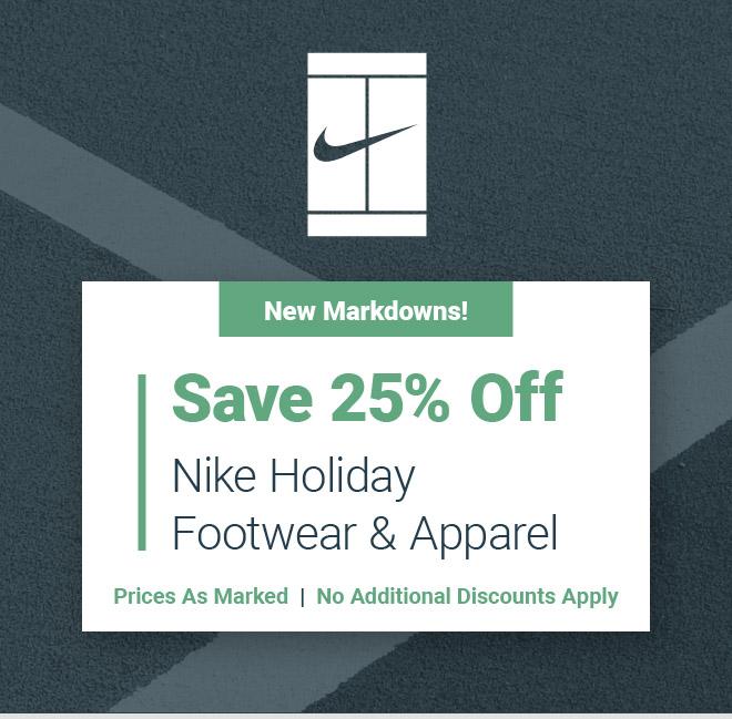 Nike Holiday Sale