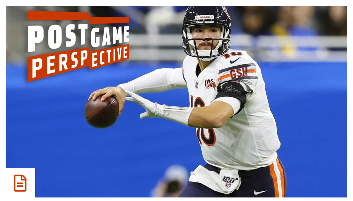 Trubisky shines in Bears victory