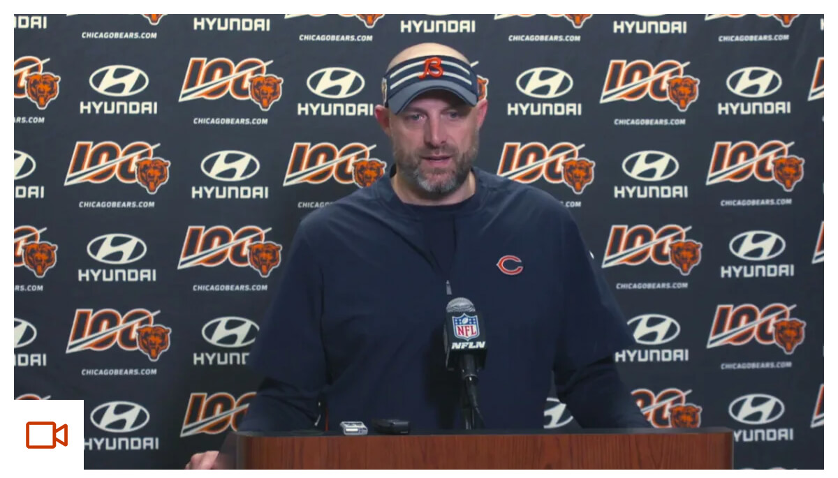Nagy on win over the Detroit Lions