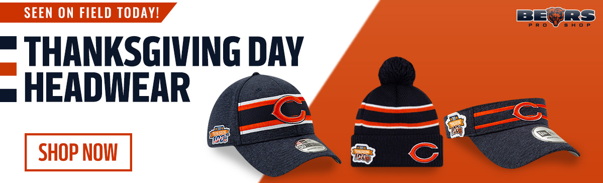 Chicago Bears Pro Shop - Thanksgiving Headwear