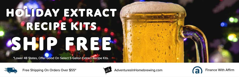AIH Extract Recipe Kits Ship Free