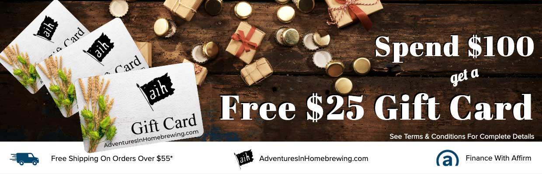 Free $20 Gift Card
