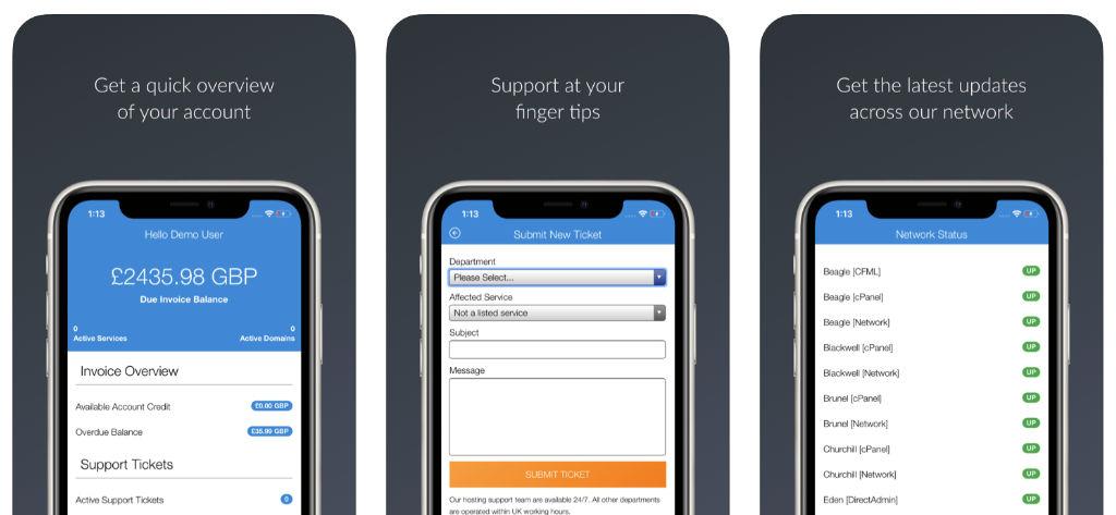 Host Media iOS Customer App