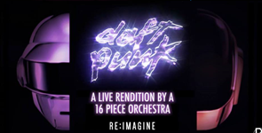 Daft Punk Performed By A 16-Piece Orchestra
