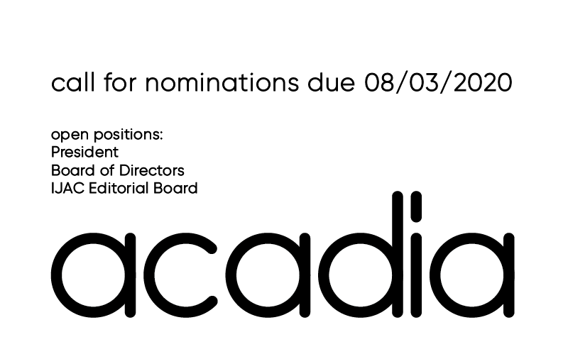 Acadia nominations 2020 02