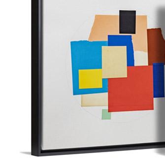 Arrangement (Circle) by Matthew Rucki (Montserrat College of Art)