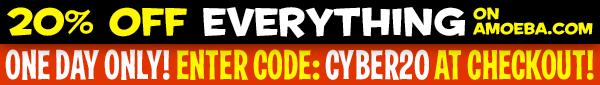 20% Off Everything on Amoeba.com