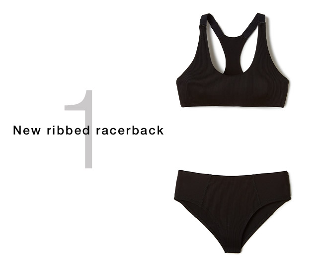 New ribbed racerback