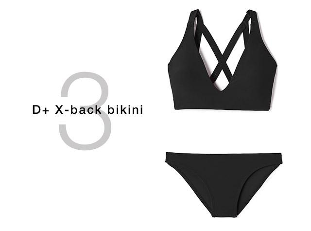 D+ x-back bikini