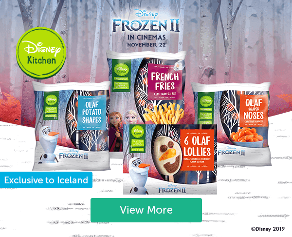 Disney Frozen 2 in cinemas November 22 Disney Kitchen French Fries, Olaf potato shapes, Olaf shaped noses, 6 Olaf lollies 〥isney 2019 View More