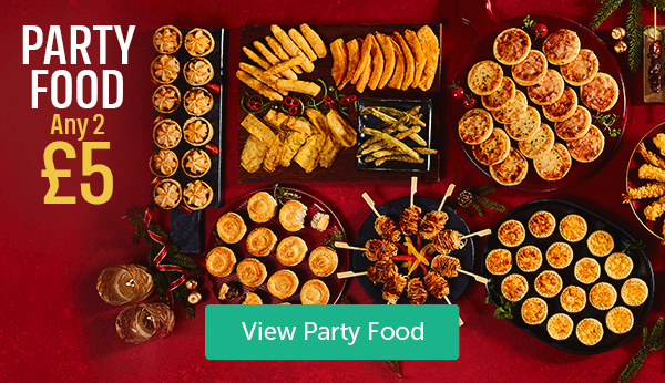 Party Food Any 2 �View Party Food
